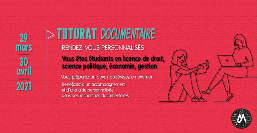 Tutorat documentaire - rendez-vous personnalisés